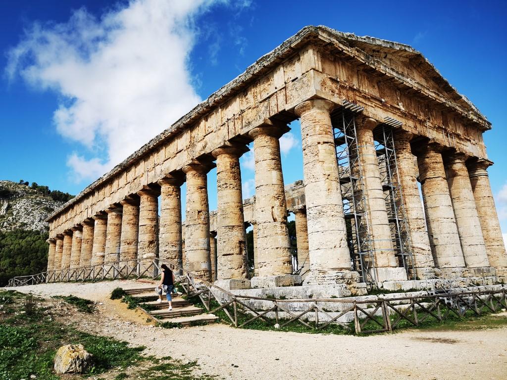 Sicile en Novembre : temple de Segeste