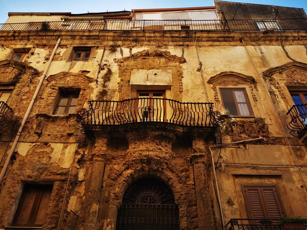 Sicile en Novembre : les vieux murs
