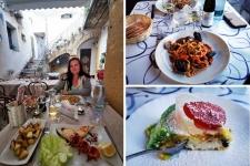 Sicile en Novembre : plats siciliens