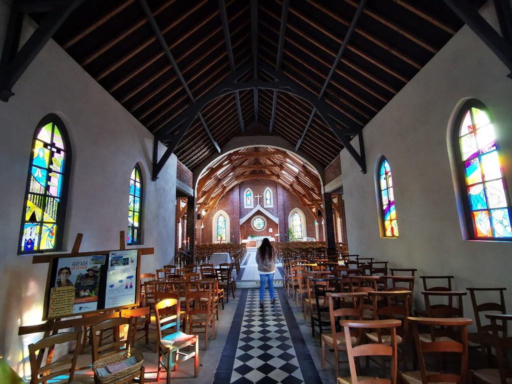 Que faire en Baie de Somme : chapelle de Quend Plage