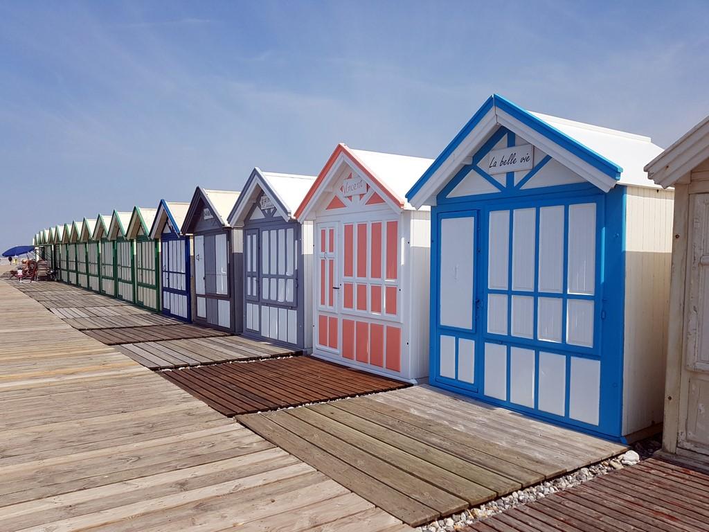 Que faire en Baie de Somme : chemin des planches à Cayeux sur Mer