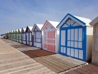 Que faire en Baie de Somme : le chemin des planches à Cayeux sur Mer