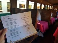 Que faire en Baie de Somme : dîner dans le train de la Baie de Somme