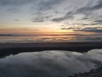 Que faire en Baie de Somme : admirer un coucher de soleil