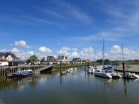 Que faire en Baie de Somme : voir le port de Le Crotoy