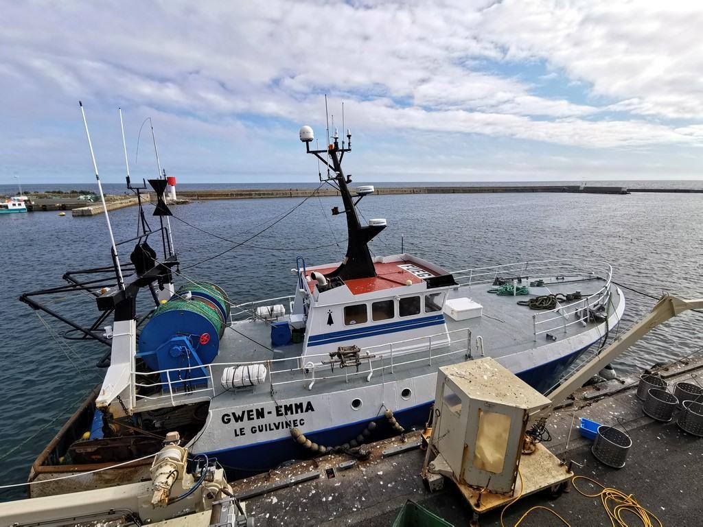 Que voir en Pays Bigouden Sud ?  Des bateaux de pêcheurs