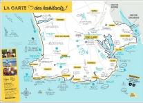 La carte du Pays Bigouden Sud