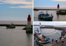 Que voir en Pays Bigouden ?  L'arrivée des pêcheurs