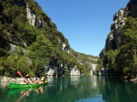 Balade en kayak dans le Verdon
