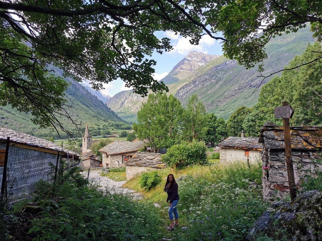 Bonneval sur Arc en été : le vieux village
