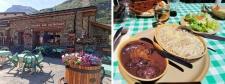 Bonneval sur Arc en été : restaurant La Benna