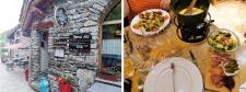 Bonneval sur Arc en été : restaurant La Cabane