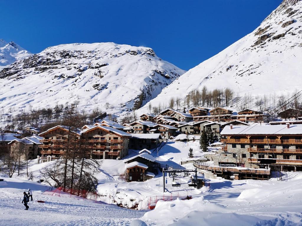 Bonneval sur Arc en hiver : hameau de Tralenta