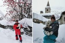 Bonneval sur Arc en hiver : les vadrouilleurs