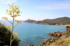 Corse en Septembre : côte sauvage