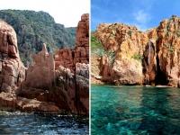Corse en Septembre : calanques de piana