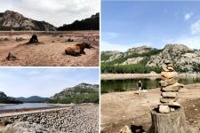 Corse en Septembre : lac d'Ospedale