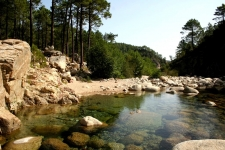 Corse en Septembre : piscine naturelle