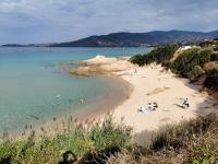 Corse en Septembre : plage U Castellu