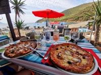 Resto de plage en Corse en Septembre