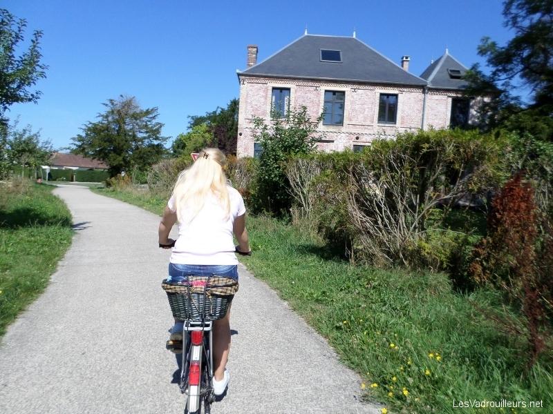 Faire des balades à vélo