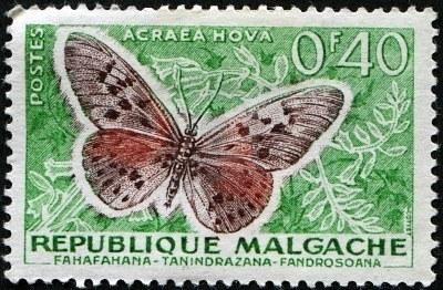 Timbre malgache