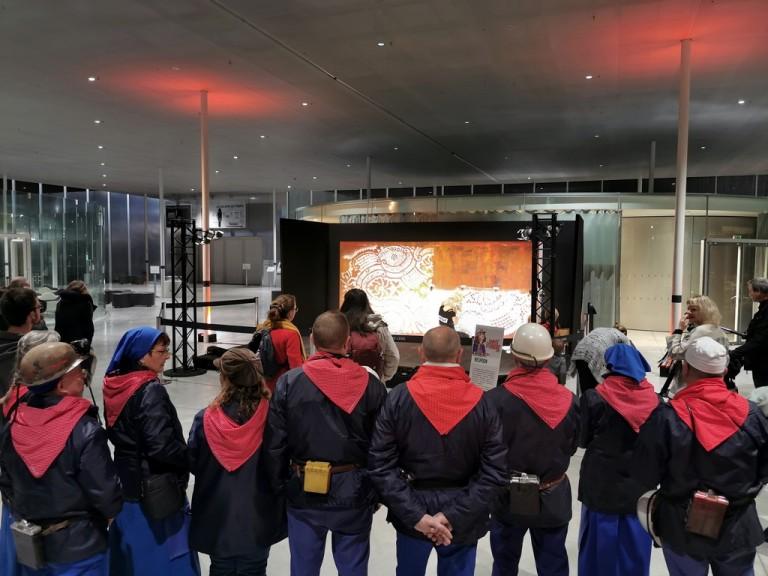 Le 4 Décembre, c'est Vive Sainte Barbe et Bon Anniversaire Louvre Lens !