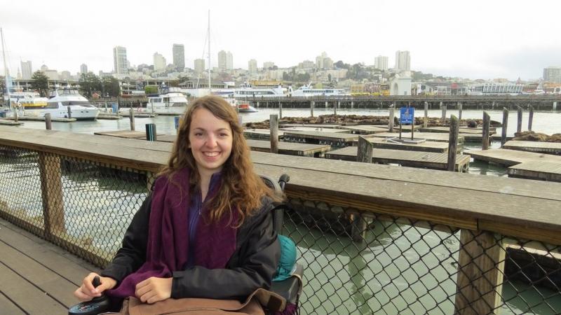 Audrey et son voyage aux USA en mode roulettes et sac à dos