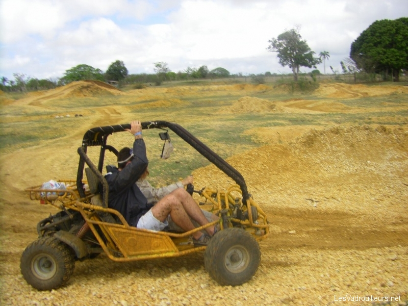 Randonnée buggy en arrière pays de République Dominicaine