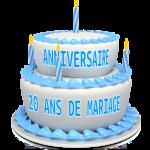 Où voyager en couple pour un anniversaire de mariage 20 ans ?