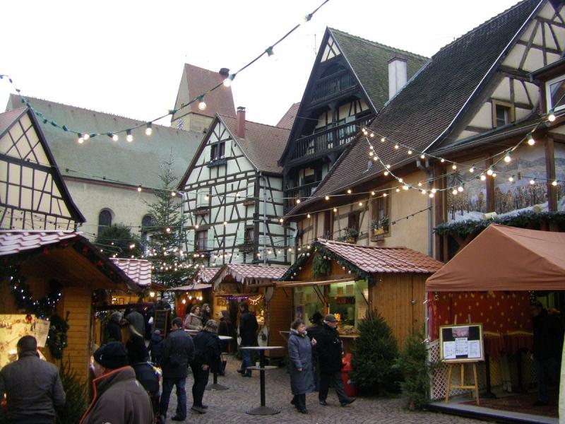 Lequel des 7 pays de Noel privilégier pour faire les marchés de Noel en Alsace ?