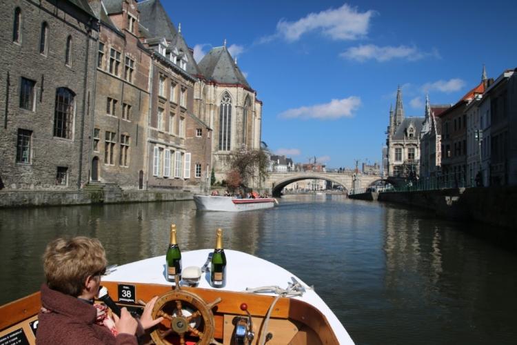 Que faire à Gand au cours d'une journée en amoureux ?