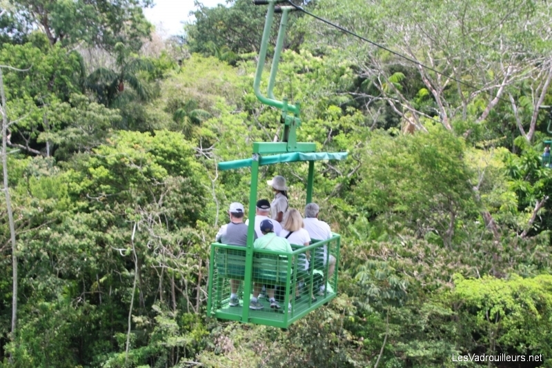 Panama : allons en expédition téléphérique et lac Gatun …