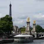 Croisière sur la Seine et promenade dans les jardins de Paris
