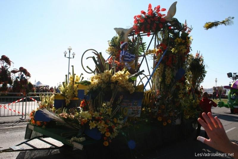 Evènement côte d'azur : la bataille des fleurs du Carnaval de Nice