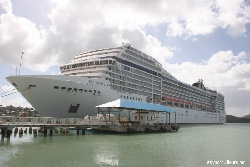 Le MSC Musica : un navire de croisière plein d'élégance …