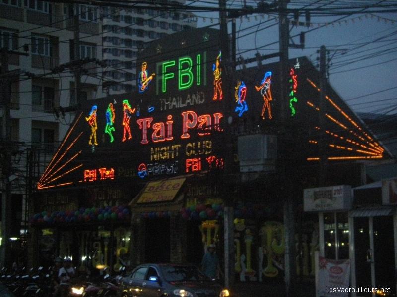 Patong : une ville de Thailande très vivante … la nuit !
