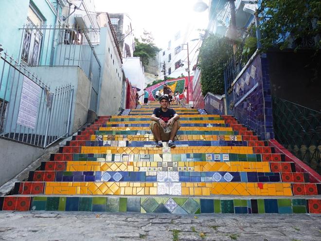 Interview de Thomas qui nous fait découvrir le Brésil