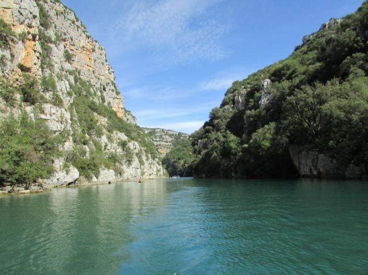 Allons découvrir au fil de l'eau les Basses Gorges du Verdon …